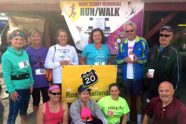 Race Results for the MARY CLEARY MEMORIAL 5K RUN & WALK