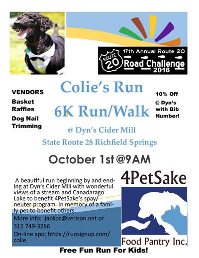 Colie's Run 6K