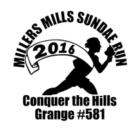 Millers Mills Sundae Run 5K Road Race & 2 Mile Fun Walk
